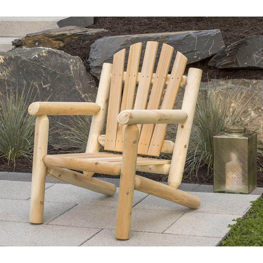 Modubox Patio Chair Natural Cedar Outdoor Cedar White Cedar Arm Chair - Natural Cedar