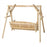 Modubox Patio Swing Natural Cedar Outdoor Cedar White Cedar 5' Swing  - Natural Cedar