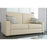 Modubox Sofa Universel Sofa for Full Murphy Bed (No Backrest) - Available in 2 Colors