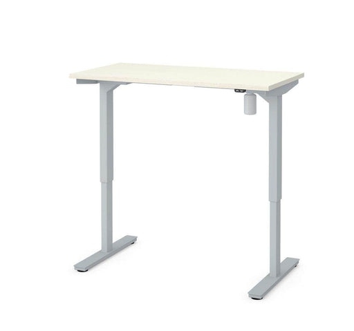 "Modubox Standing Desk White Chocolate Universel 30"" x 60"" Height Adjusting Standing Desk - Available Bark Grey"