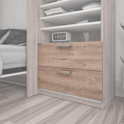 "Modubox Storage Drawers Cielo 2-Drawer Set for Cielo 29.5"" Closet Organizer - Available in 2 Colors"