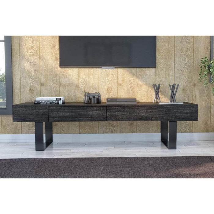 Modubox TV Stand Black Oak Lyra TV Stand - Black Oak