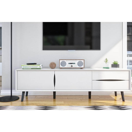 Modubox TV Stand White Maia TV Stand - White