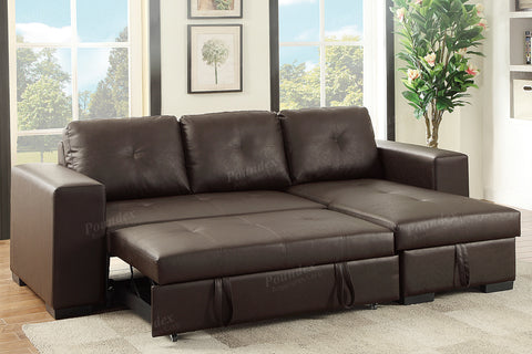 Elegant Convertible Sectional Bed Sofa