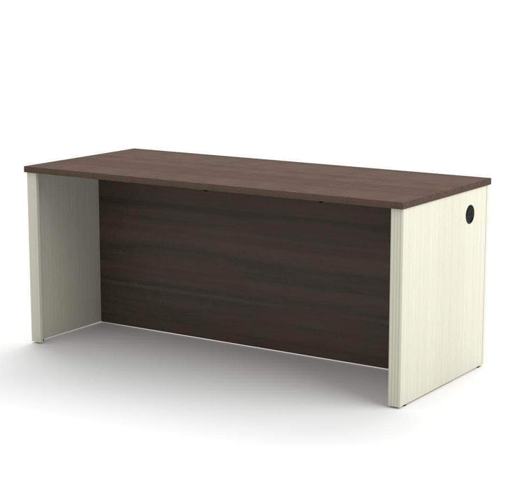 Pending - Bestar Antigua Prestige+ Desk Shell - Available in 4 Colors