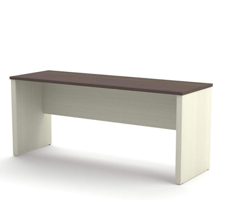 Pending - Bestar Antigua Prestige+ Narrow Desk Shell - Available in 5 Colors