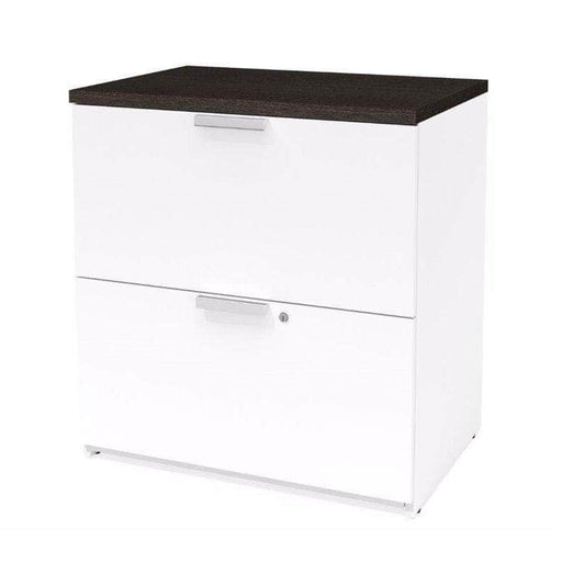 Pro Concept Plus Lateral File Cabinet - White & Deep Grey