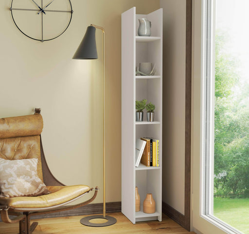 "Pending - Bestar Bookcase Small Space 10"" Narrow shelving unit - Available in 2 Colors"