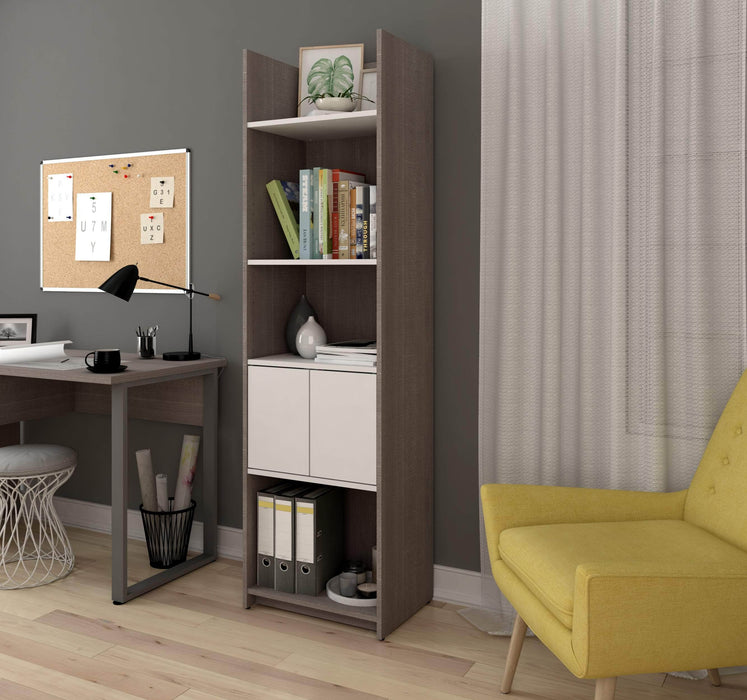 "Pending - Bestar Bookcase Small Space 20"" Shelving unit - Available in 2 Colors"