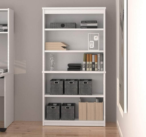 Pending - Bestar Bookcase Uptown II Bookcase - Available in 8 Colours