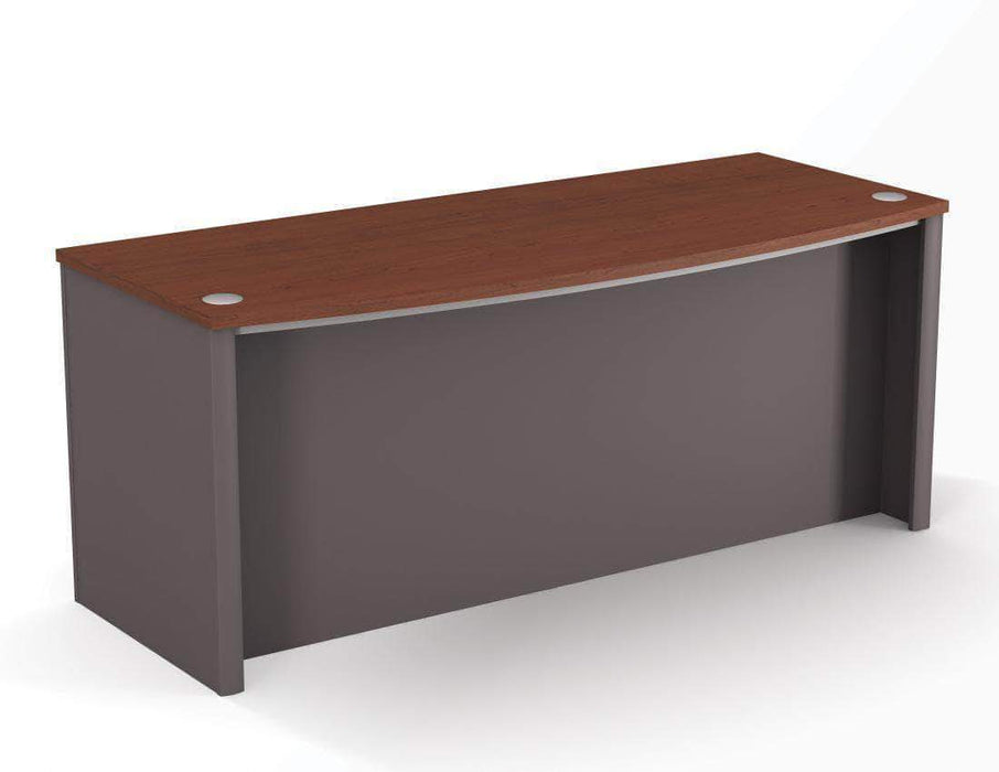 Pending - Bestar Bordeaux & Slate Connexion Desk Shell - Available in 3 Colours