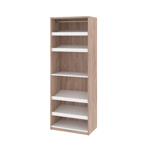 "Pending - Bestar Closet Organizer Cielo 29.5"" Closet Organizer - Available in 2 Colors"