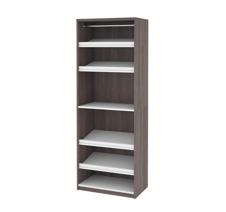 "Pending - Bestar Closet Organizer Cielo 29.5"" Closet Organizer - Available in 2 Colours"
