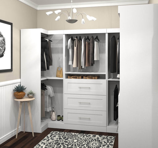 Pending - Bestar Closet Organizer Pur Walk-In Closet Organizer Set - Available in 2 Colors