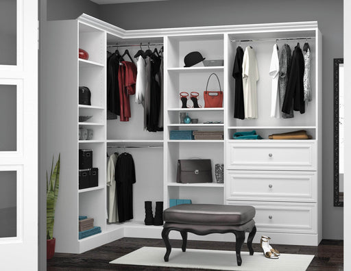 Pending - Bestar Closet Organizer Versatile Walk-In Closet Organizer - Available in 2 Colors