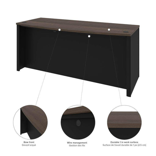 Pending - Bestar Connexion Desk Shell - Available in 3 Colours