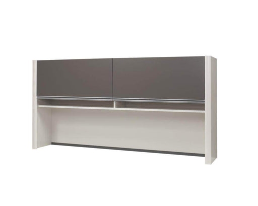 Pending - Bestar Connexion Hutch for Narrow Desk Shell - Available in 3 Colours