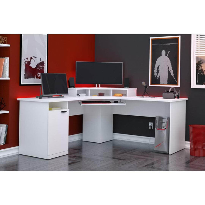 Pending - Bestar Corner Desk Hampton 71W Corner Desk - Available in 2 Colors