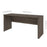 "Pending - Bestar Desk Shell Embassy 66"" Narrow Desk Shell - Available in 2 Colors"