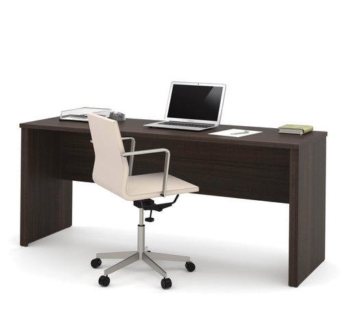 "Pending - Bestar Desk Shell Embassy 71"" Narrow Desk Shell - Available in 2 Colors"