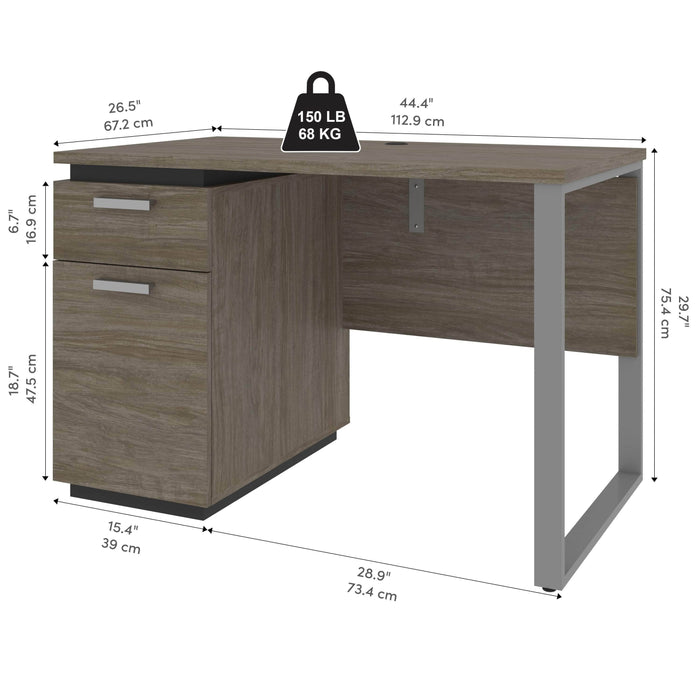 Pending - Bestar Desks Aquarius 45W Small Desk - Available in 3 Colors
