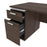 Aquarius Desk with Single Pedestal - Available in 4 Colors