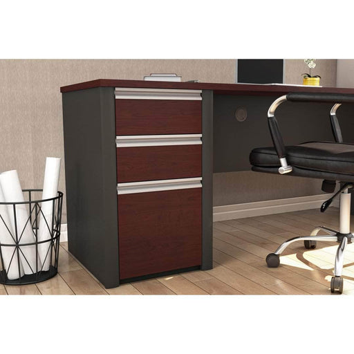 Pending - Bestar File Cabinet Connexion Add-On Pedestal with 3 Drawers - Available in 3 Colours