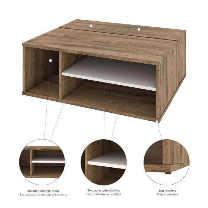 Pending - Bestar Fom Living Room Storage Set - Available in 2 Colours