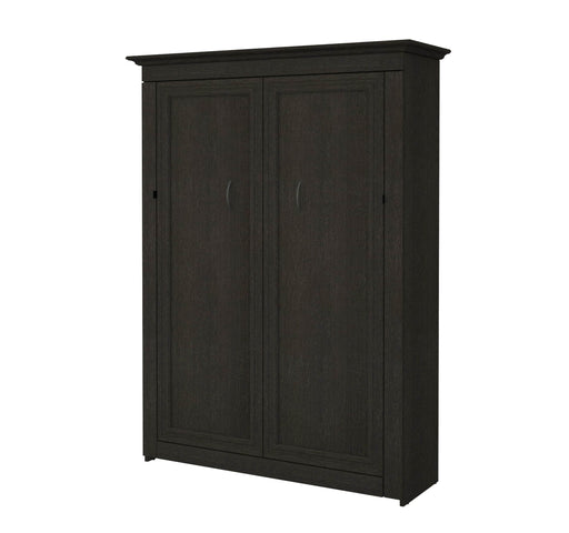 Pending - Bestar Full Murphy Bed Deep Grey Audrea 64W Full Murphy Bed - Deep Grey