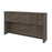"Pending - Bestar Hutch Walnut Grey Embassy Hutch for 66"" Narrow Desk Shell - Available in 2 Colours"