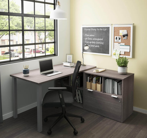 Pending - Bestar i3 Plus L-Shaped Desk - Available in 2 Colours