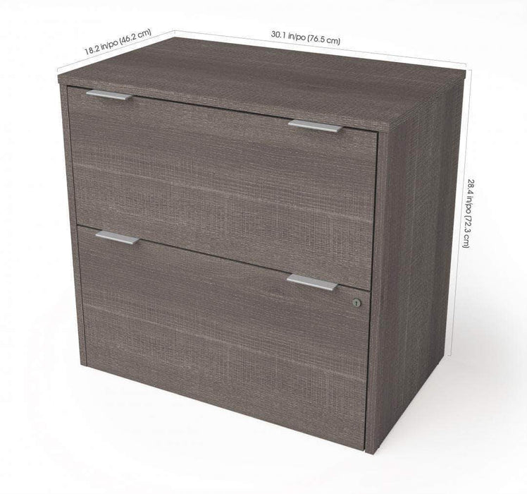 Pending - Bestar i3 Plus Lateral File Cabinet - Available in 3 Colours
