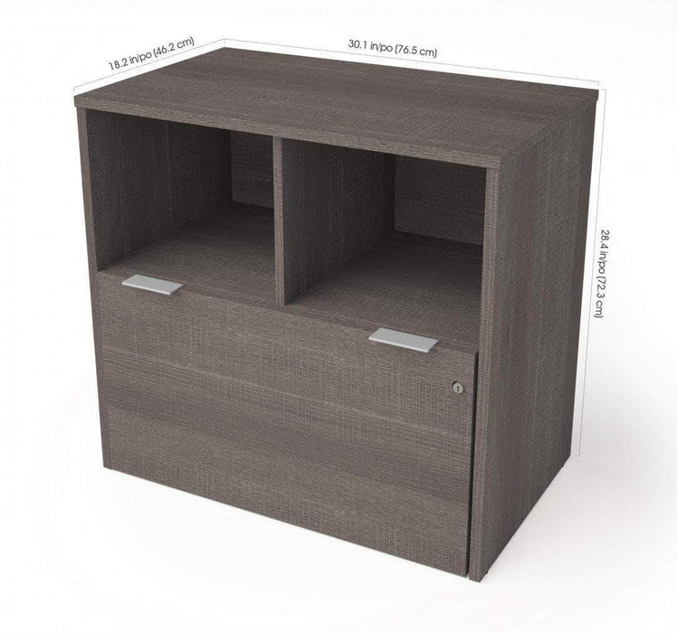 Pending - Bestar i3 Plus Lateral File Cabinet with 1 Drawer - Available in 3 Colours