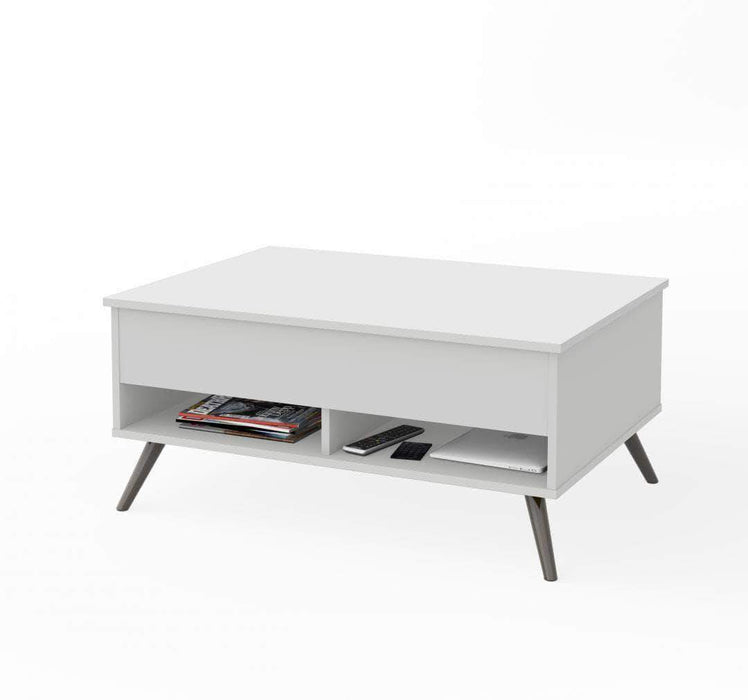 "Krom 37"" Lift-Top Coffee Table with Metal Legs (2 Colors)"
