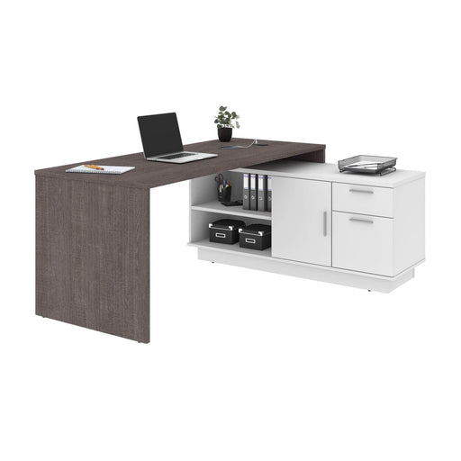 Pending - Bestar L-Desk Equinox L-Shaped Desk - Available in 2 Colours