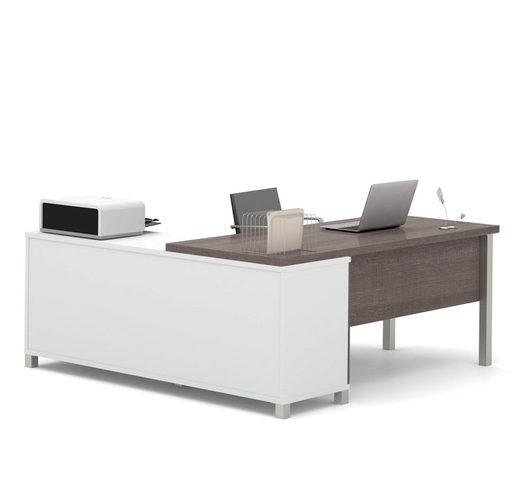 Pending - Bestar L-Desk Pro-Linea L-Shaped Desk - Available in 2 Colors