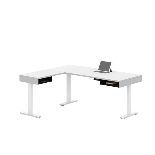 Pending - Bestar L-Desk Pro-Vega L-Shaped Standing Desk - Available in 2 Colours