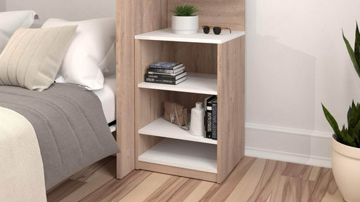 "Pending - Bestar Low Storage Unit Cielo 19.5"" Low Storage Unit - Available in 2 Colours"