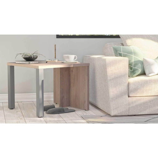 Lucida End Table - Rustic Brown