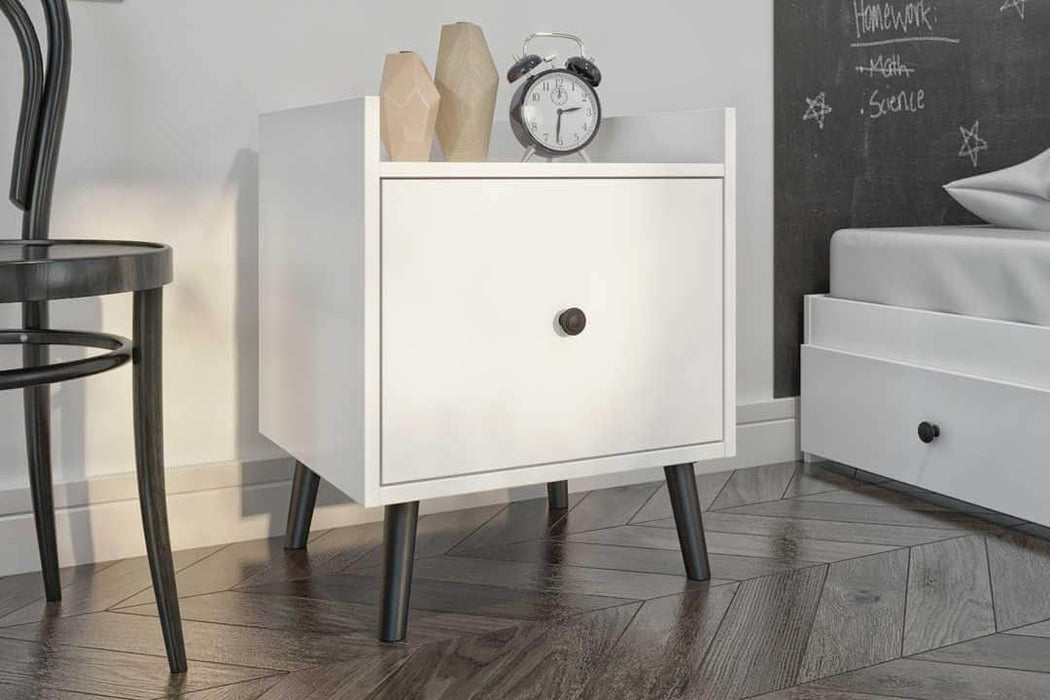 Mira Nightstand - White