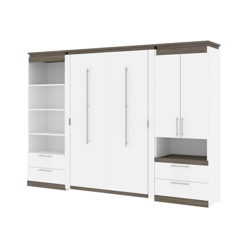 Pending - Bestar Murphy Beds Orion 118W Full Murphy Bed And Multifunctional Storage With Drawers - Available in 2 Colors