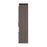 Bestar Queen Murphy Bed Orion 124W Queen Murphy Bed And 2 Storage Cabinets With Pull-Out Shelves (125W) In Bark Gray & Graphite