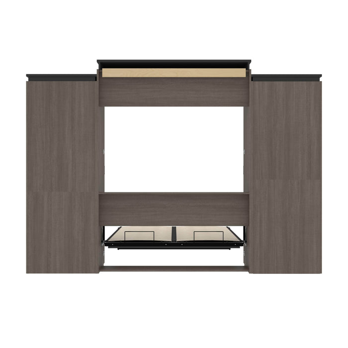 Pending - Bestar Murphy Beds Orion 124W Queen Murphy Bed And Multifunctional Storage With Drawers - Available in 2 Colors