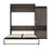 Pending - Bestar Murphy Beds Orion Queen Murphy Bed And Storage Cabinet With Pull-Out Shelf - Available in 2 Colors