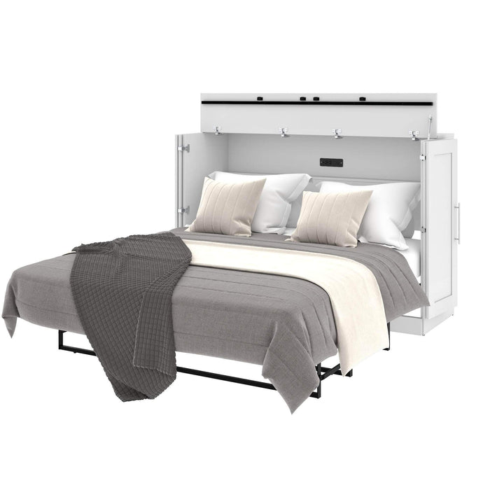 Pending - Bestar Murphy Cabinet Bed available in 3 Colors
