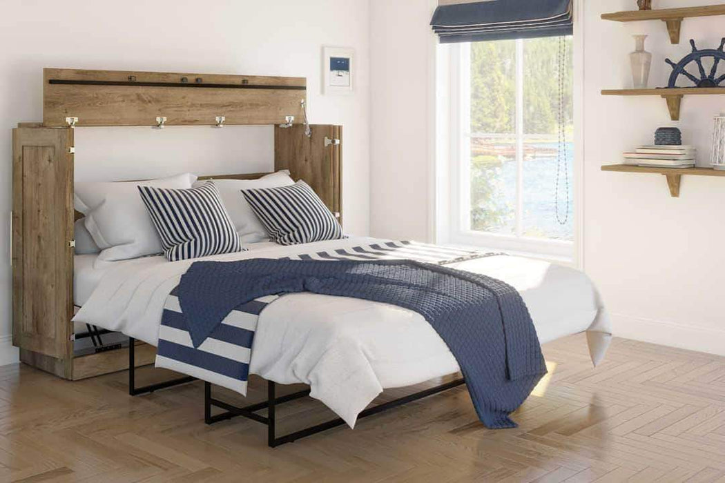 Pending - Bestar Murphy Cabinet Bed Pur Murphy Cabinet Bed - Available in 3 Colours
