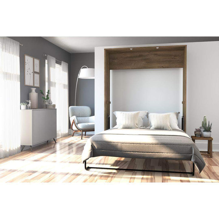Pending - Bestar Murphy Wall Bed Cielo Queen Size Wall Bed - Available in 3 Colours