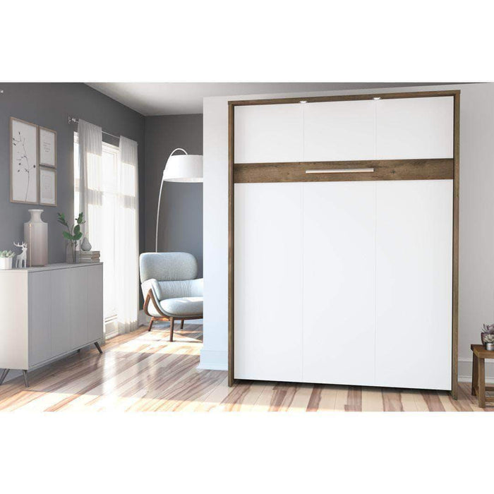 Pending - Bestar Murphy Wall Bed Cielo Queen Size Wall Bed - Available in 3 Colors