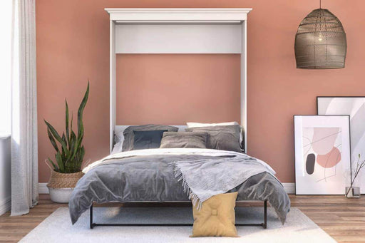 Pending - Bestar Murphy Wall Bed Versatile Queen Size Wall Bed - Available in 2 Colours