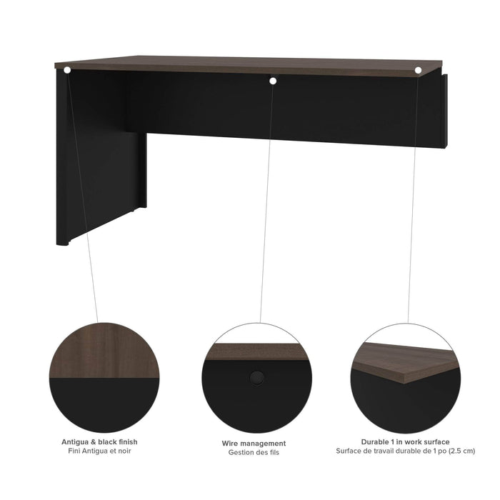 Pending - Bestar Office Accessories Connexion Return Table - Available in 3 Colours